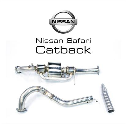 Picture of NISSAN SAFARI CATBACK W/ CUTOUT